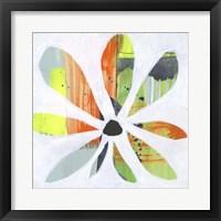 Pin Wheel I Framed Print