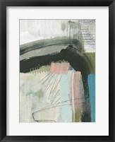 Layering Marks I Framed Print