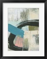 Layering Marks II Framed Print