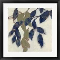 Entwined Leaves I Framed Print