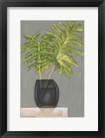 Frond in Vase II Framed Print