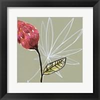 Tropic Botanicals II Framed Print