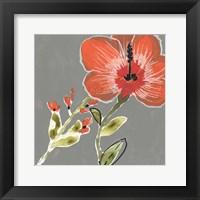 Framed Tropic Botanicals III