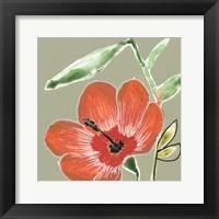 Tropic Botanicals IV Framed Print