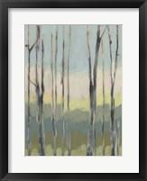 Horizon Through the Trees I Framed Print