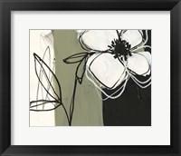 Floral Synergy IV Framed Print