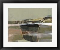 Refracted Horizon I Framed Print