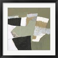 Olive Black & Gold I Framed Print
