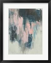 Blush Cascade II Framed Print