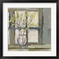 Sign of Spring II Framed Print