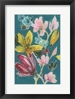 Tropic Bouquet I Framed Print