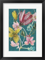 Tropic Bouquet II Framed Print