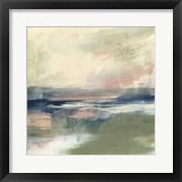 Coastline Vignette III Framed Print