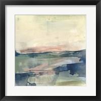 Coastline Vignette IV Framed Print