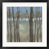 Within the Trees I Framed Print