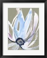 Floral Focus I Framed Print