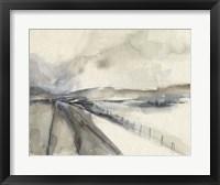 Vanishing Pathway I Framed Print
