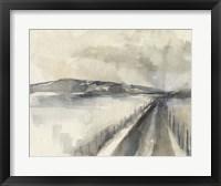 Vanishing Pathway II Framed Print