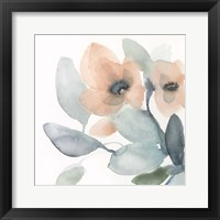 Water and Petals I Framed Print