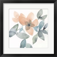 Water and Petals III Framed Print