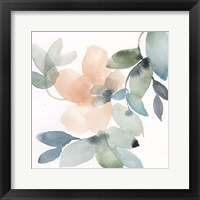 Water and Petals IV Framed Print