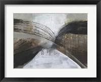Clouded Vortex I Framed Print
