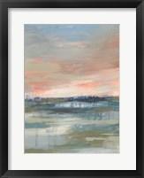 Vast Marsh I Framed Print