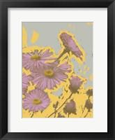 Pop Art Floral VI Framed Print
