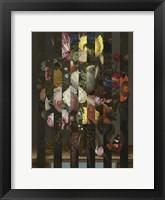Masked Flemish Bouquet II Framed Print