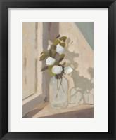 Window Bouquet II Framed Print