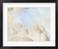 Cloud Coast I Framed Print