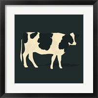 Refined Holstein III Framed Print