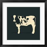 Refined Holstein IV Framed Print