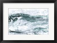 Misty Waves I Framed Print