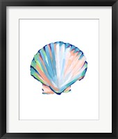 Pop Shell Study III Framed Print