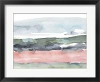 Blush Salt Bed I Framed Print