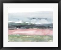 Blush Salt Bed II Framed Print
