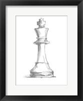 Chess Piece Study II Framed Print