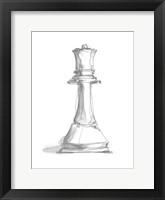Chess Piece Study III Framed Print