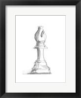 Chess Piece Study IV Framed Print