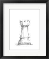 Chess Piece Study V Framed Print