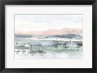 Marsh Cattails I Framed Print