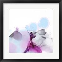 Fluid Magenta II Framed Print