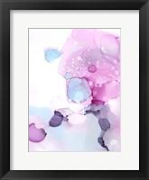 Fluid Magenta IV Framed Print