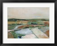 Pastel Fields II Framed Print