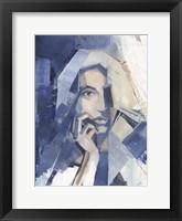 Cubist Glamour I Framed Print
