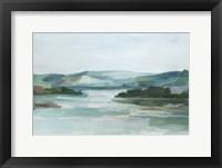 Misty Cove II Framed Print