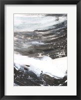 Blizzard Conditions I Framed Print