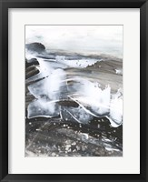 Blizzard Conditions II Framed Print
