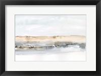 Marsh Dunes I Framed Print